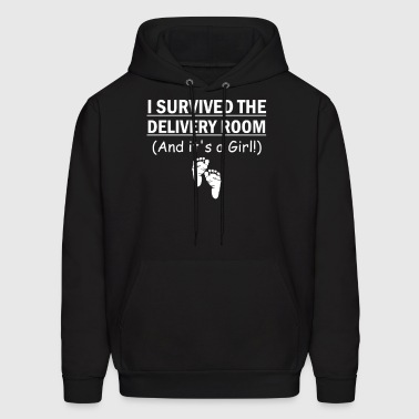 I survived room  - Men's Hoodie