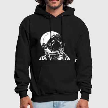 Space Dog Laika - Men's Hoodie