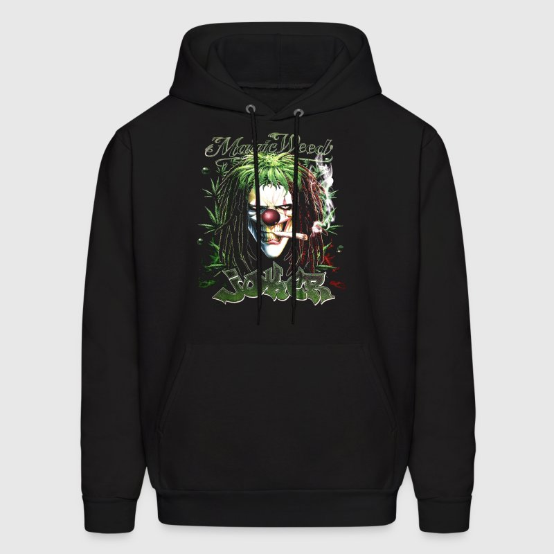 Joker Magic Weed Ganja Mary Jane Mariguana - Men's Hoodie