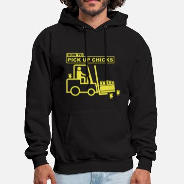 Pick Up Pick Up Chicks - Men's Hoodie