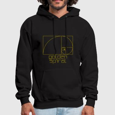 Golden Ratio Golden Ratio. Fibonacci. Golden Spiral - Men's Hoodie