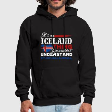 ICELAND THING SHIRT - Men's Hoodie