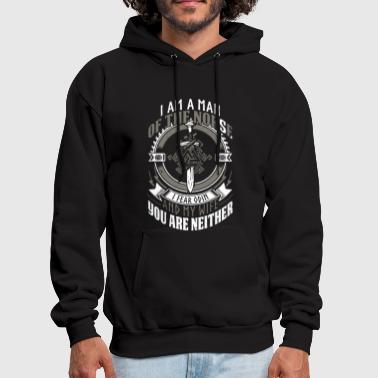 I am a man of the norse i fear odin and my wife yo - Men's Hoodie