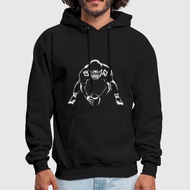 Design T Shirt American Football Rugby NFL USA - Men's Hoodie