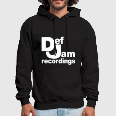 Old School Hip Hop Def Jam Recordings Hip Hop classic music - Men's Hoodie