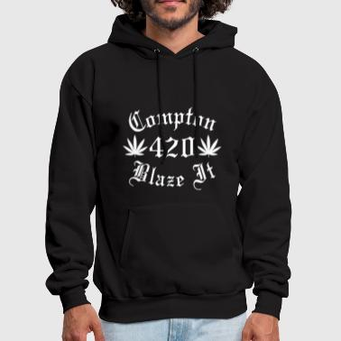 KLLASS Compton 420 Blaze it - Men's Hoodie