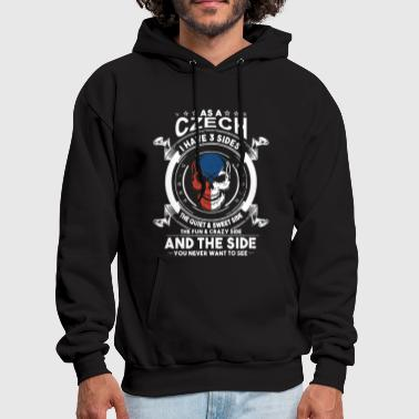 As a czech i have 3 sides the quiet and sweet side - Men's Hoodie