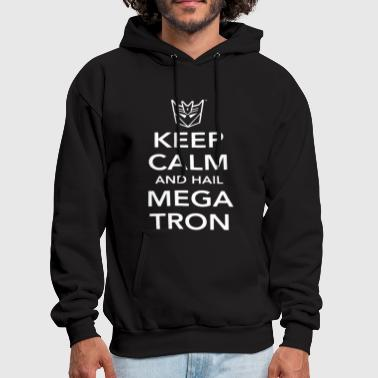 Decepticon Transformers Keep Calm And Hail Megatron Deceptico - Men's Hoodie