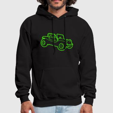V W Beach Buggy Retro Cool V w Vdub Volks wagen Beetle - Men's Hoodie
