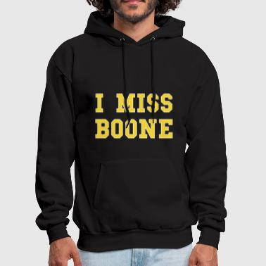 Boon I mis boone hipster t shirt - Men's Hoodie