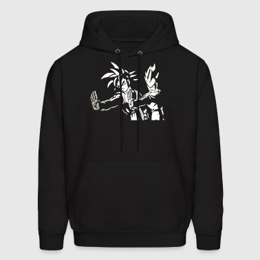 DRAGON BALL Z PULP FICTION Goku Vegeta - Men's Hoodie