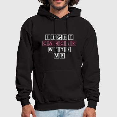 New Ladies Breast Cancer Awareness Fight Cancer T - Men's Hoodie