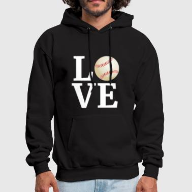 Coach I Love Baseball Player Fan Coach - Men's Hoodie