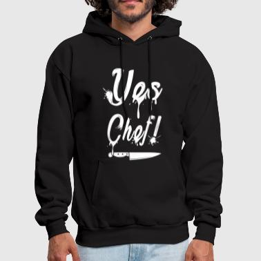Chef yes chef t shirts - Men's Hoodie