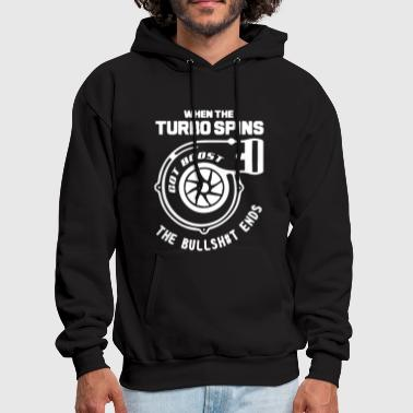 TURBOCHARGER TURBO SKYLINE NISSAN MUSCLE CAR GARRE - Men's Hoodie