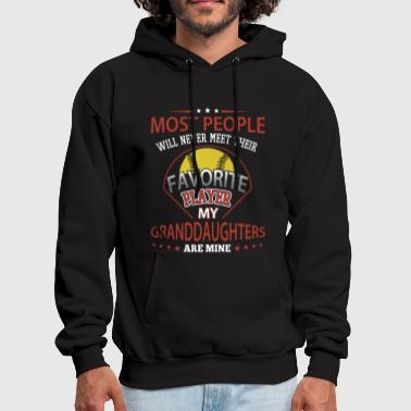 most people will never meet their baseball - Men's Hoodie