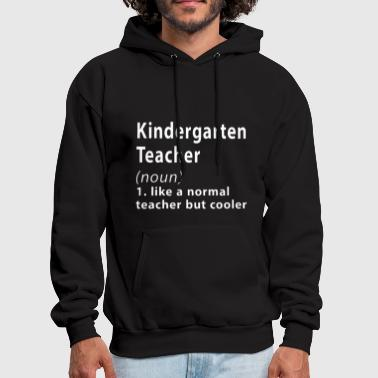 kindergarten teacher - Men's Hoodie