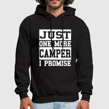 just one more camper i promise camp t shirts - Men's Hoodie