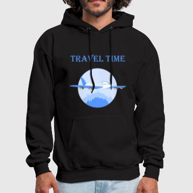 Travel Time T Shirt For Great Holiday - Men's Hoodie