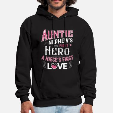 auntio nephews first a nieces first love friend t - Men's Hoodie