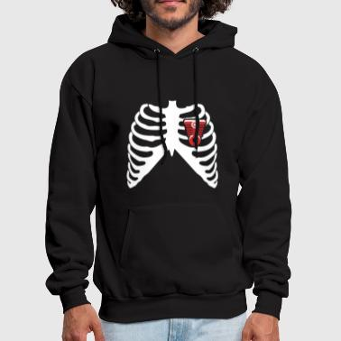 MY HEART BEATS FOR MUSCLE CARS! I LOVE MUSCLE CARS! - Men's Hoodie