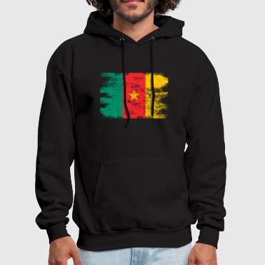 Cameroon Shirt Gift Country Flag Patriotic Travel Africa Light - Men's Hoodie