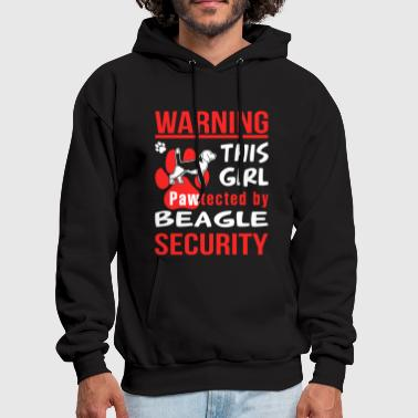 Pawtected By Beagle Shirt - Men's Hoodie