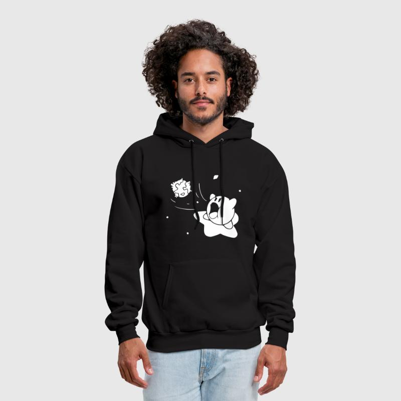 Kirby Gamer Geek SNES - Men's Hoodie