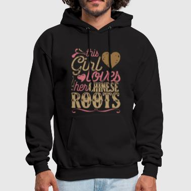 Roots - Chinese Roots Patriot Shirt China Asia - Men's Hoodie