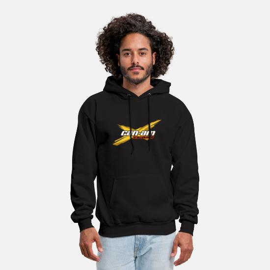 Am Hoodies & Sweatshirts - Can Am Logo Brp Atv - Men's Hoodie black