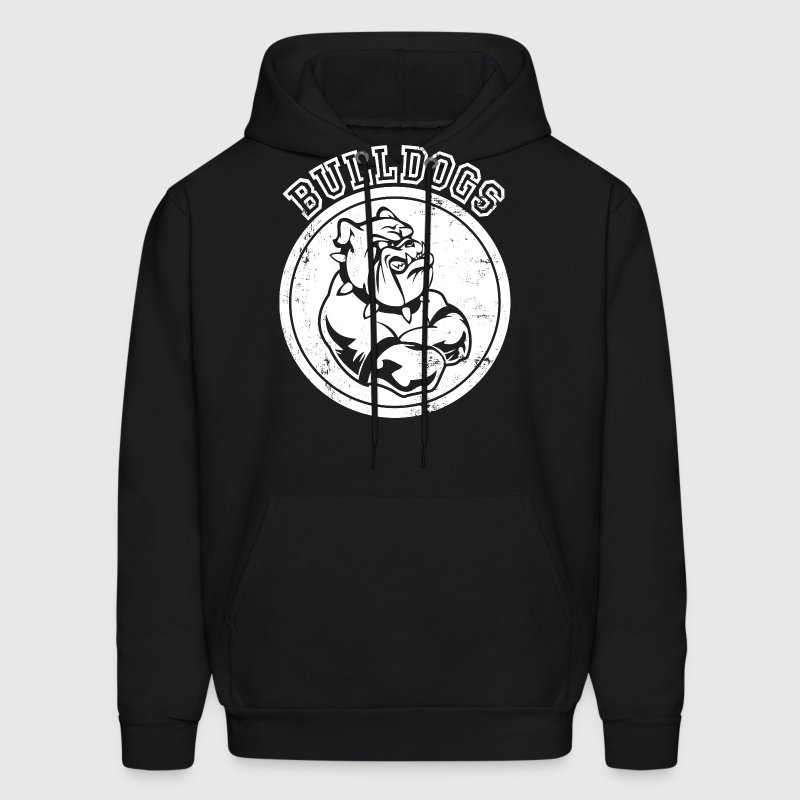 Custom Bulldog Sports Team Graphic - Men's Hoodie