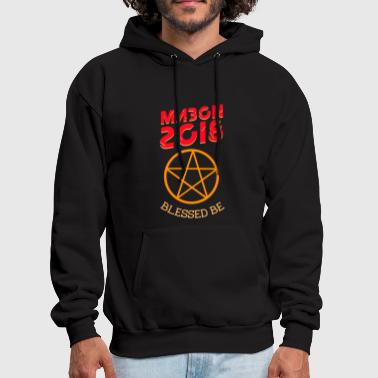 Mabon 2018 blessed be witch autumn equinox gift - Men's Hoodie