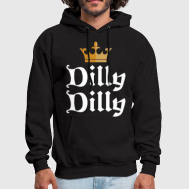 Olympics Dilly Dilly Gold Crown St Patrick s Funny Beer Bud - Men's Hoodie