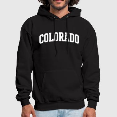 State of Colorado College Letters math - Men's Hoodie