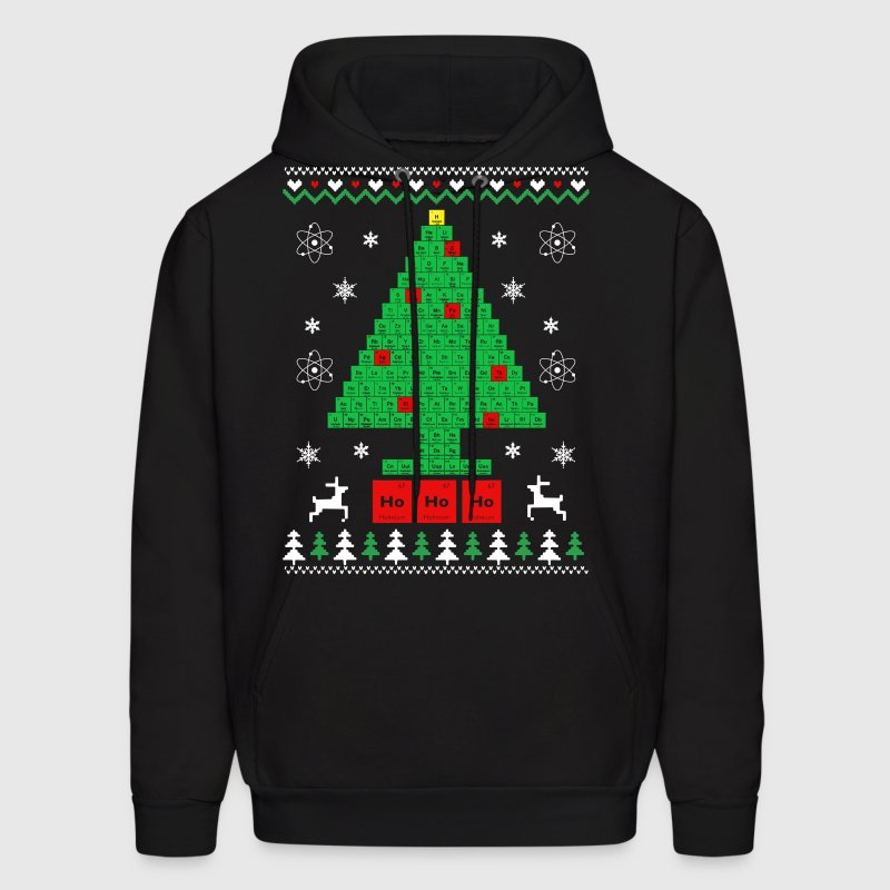 Chemist-Tree Christmas - Men's Hoodie