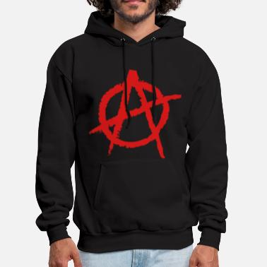 Anarchism Anarchy Shape - Men's Hoodie