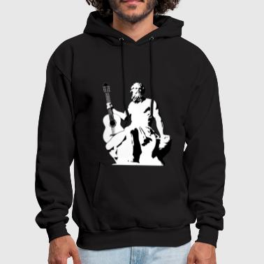 Rock God - Men's Hoodie