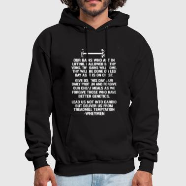 Weight Lifting Shirt - Men's Hoodie