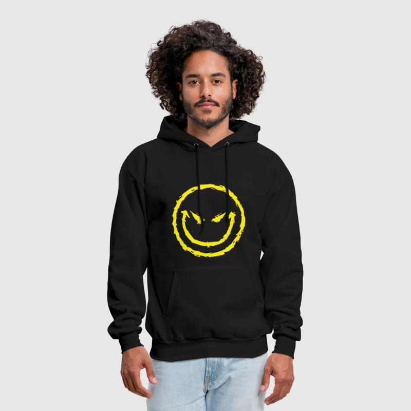 Evil Smiley Face - Men's Hoodie