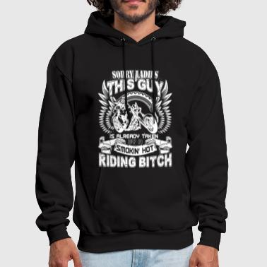 Taken By Her Riding bitch - This guy is already taken by her - Men's Hoodie