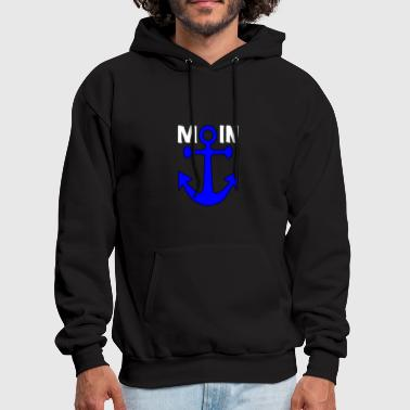 Anchor Northern-Germany Harbour - Men's Hoodie