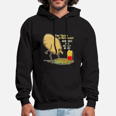 Ready How Fries Are Really Made - Men's Hoodie