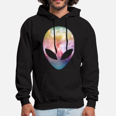 Gamer Alien Head - Men's Hoodie