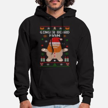 6071a8b68674 Funny Christmas Ginger Beard Man - Men  39 s Hoodie