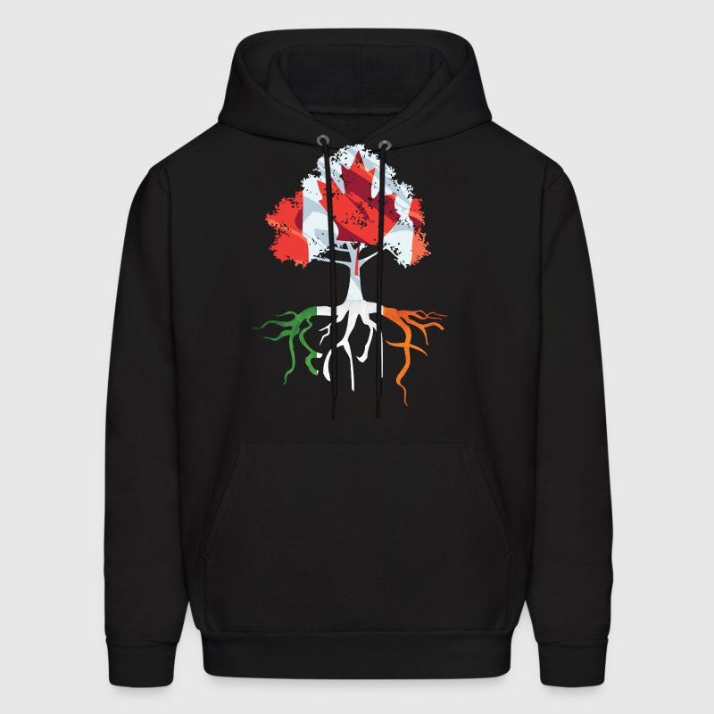 Canada Irish Roots Irish Celtic Apparel Clothing - Men's Hoodie