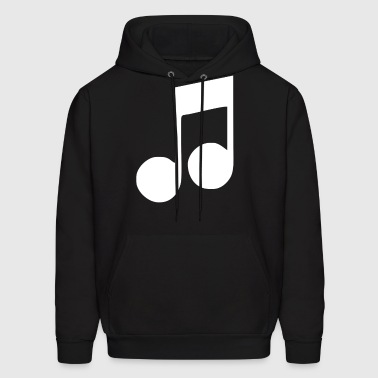 music note - Men's Hoodie