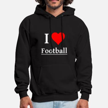 Football Sport field pitch Footballteam - Men's Hoodie