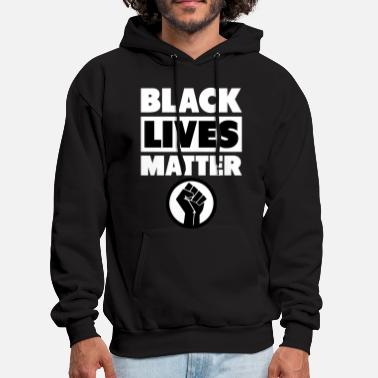 Matter Black Lives Matter Fist - Men's Hoodie