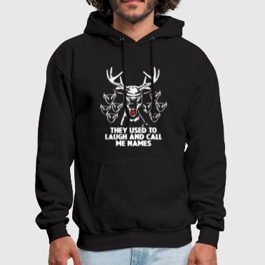 Laugh And Call me Deer - Men's Hoodie