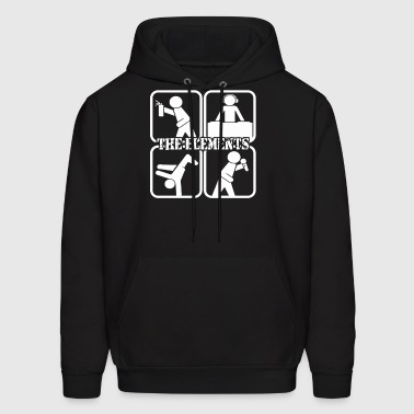 The Hip Hop Elements - Men's Hoodie